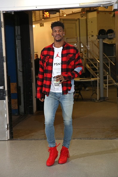 0126717217bb24 The top fashion photos of Timberwolves wing Jimmy Butler throughout the  2017-18 season.