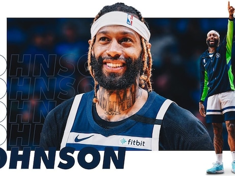 James Johnson Introduced Himself To Timberwolves' Fans In A Loud Way