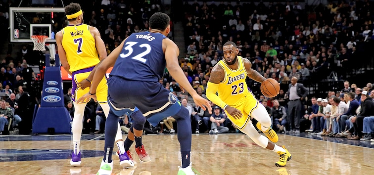 official photos 3f9ad 40eca Wolves Host LeBron & AD On March 30   Minnesota Timberwolves