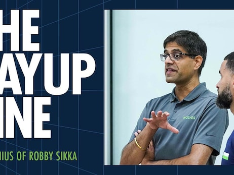 How Robby Sikka Is Helping The NBA | The Layup Line