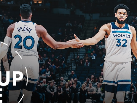 The Layup Line | Wolves' 20 Game Review, Luka-Mania And Melo Finding Success