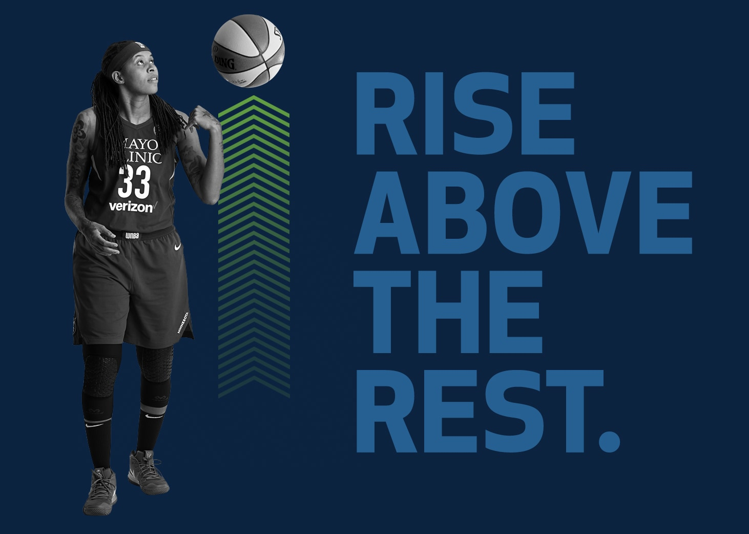 Rise Above The Rest.
