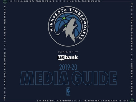 Timberwolves 2019-20 Media Guide Download
