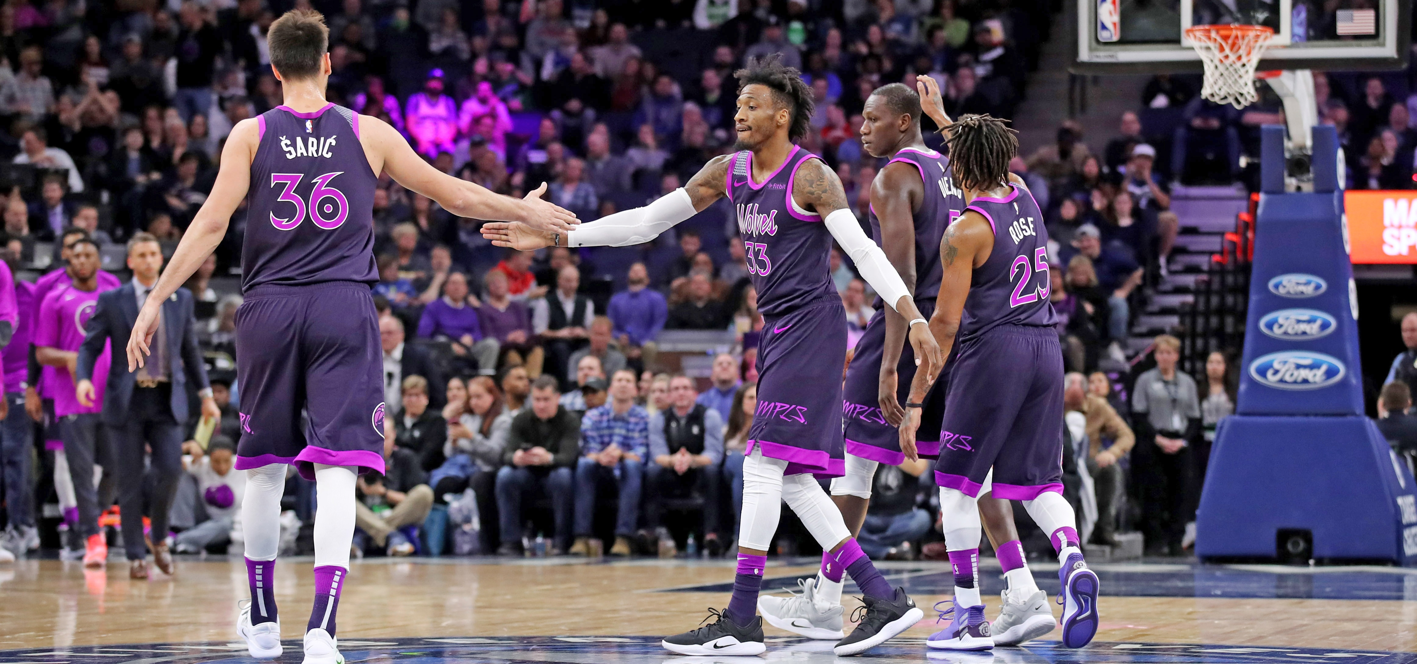Three By Three A Small Sample Size Picture Of The New-Look Wolves  Minnesota  Timberwolves