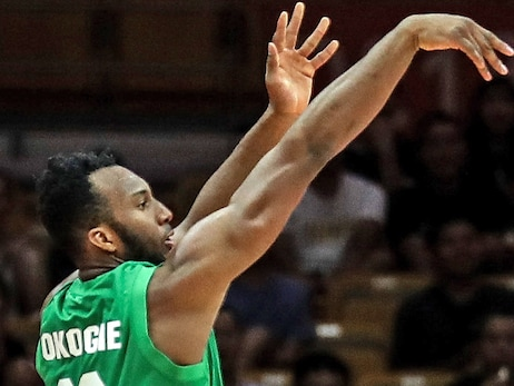 Josh Okogie Continues World Cup Play With Hot Hand From Deep