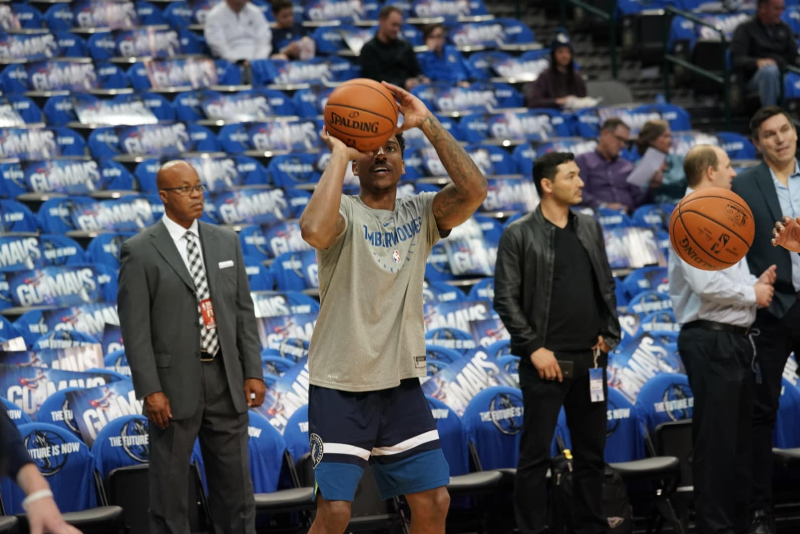 Gallery | Wolves Take On Mavs In Dallas | Minnesota Timberwolves