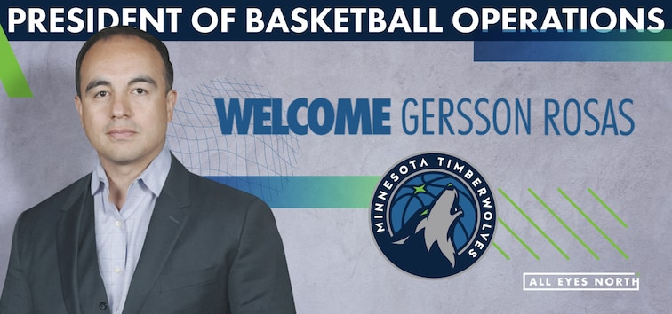 Getting To Know The Wolves' New President Of Basketball