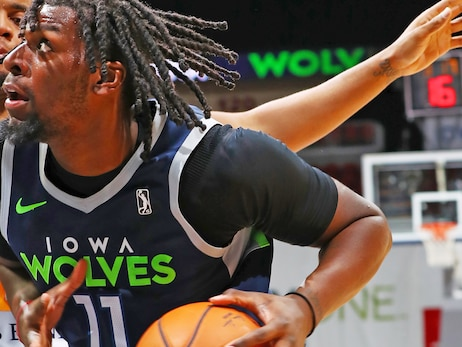 Timberwolves Recall Naz Reid from G League Affiliate Iowa Wolves