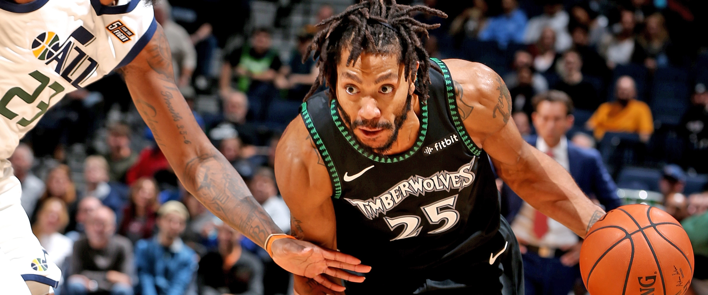 9e94f6a4 Derrick Rose Leads Wolves To Victory With Career-High 50 Points | Minnesota  Timberwolves