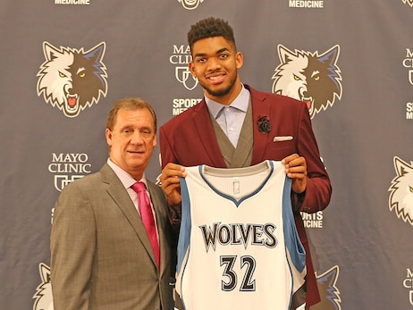 Wolves Winning 2015 Draft Lottery Was A Memorable Night For More Reasons Than We Knew