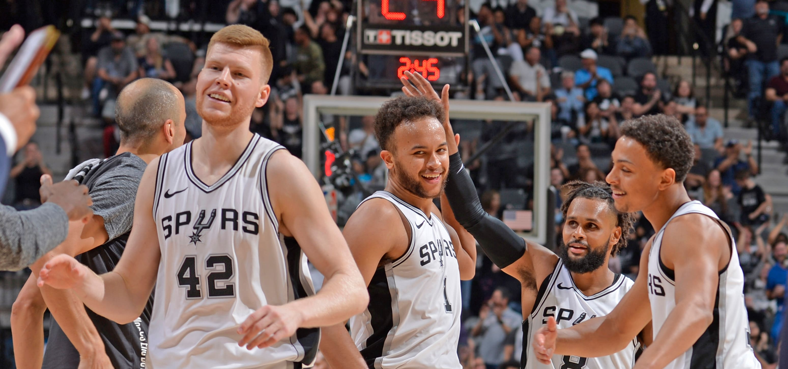 Western Conference Playoff Update  Wolves Move To 5th With Spurs' Win Over Pelicans