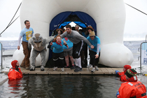 Kevin Love's Polar Bear Plunge | March 9, 2013 - 1