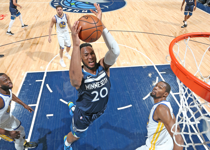 8511b861a2b Three Observations From The Wolves  Win Over The Warriors ...