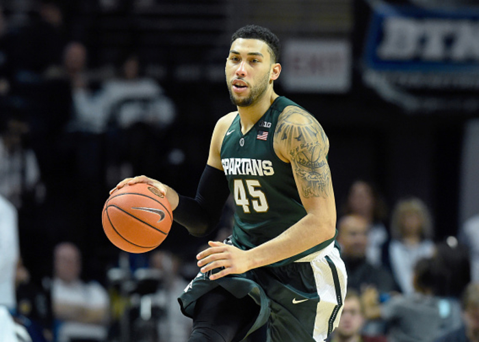 On His Way To All American Honors, Michigan State Senior Guard Denzel  Valentine Averaged