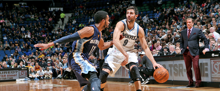 Rubio and Wolves Take Down Grizzlies