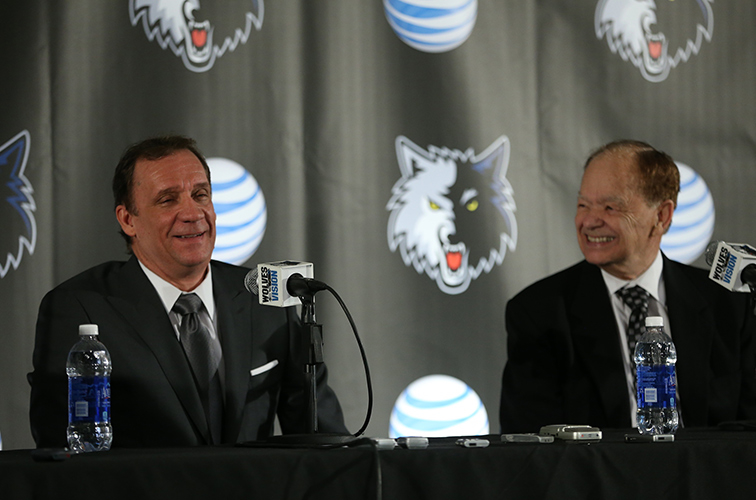 Flip Saunders Named Timberwolves Head Coach