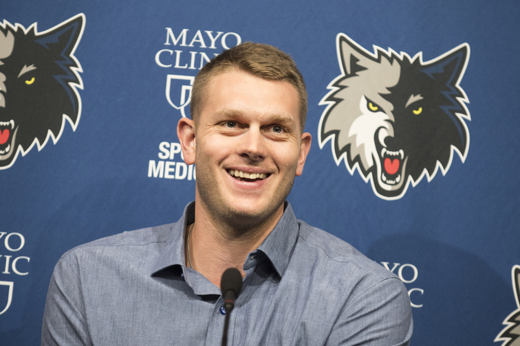 Cole Aldrich Introductory Press Conference