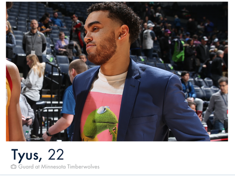 Timberwolves Valentine's Day 'Timber' Profiles