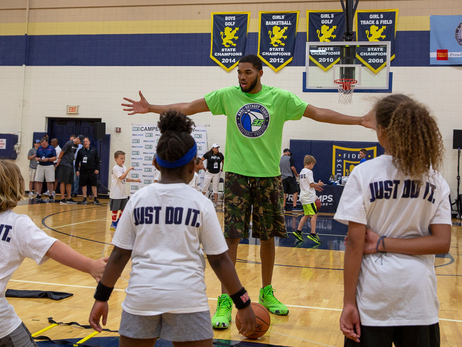 Gallery | Karl-Anthony Towns Basketball Camp