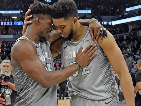 Jimmy Butler and Karl-Anthony Towns Both Named to All-NBA Third Team