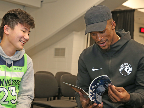 Jimmy Butler Knows Some Things Are Bigger Than Basketball