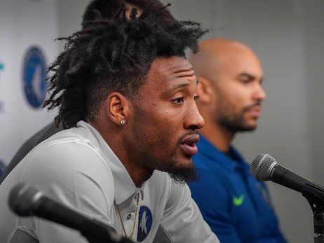 Gallery | Robert Covington, Dario Saric & Jerryd Bayless Introductory Press Conference