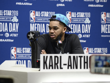 Gallery | Karl-Anthony Towns At 2019 All-Star Weekend