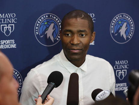 Gallery | Wolves Introduce Jamal Crawford