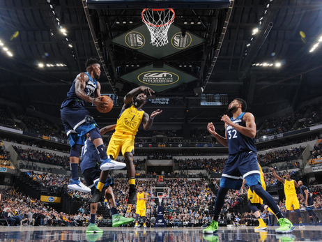 Gallery | Wolves Crush Pacers In Indiana