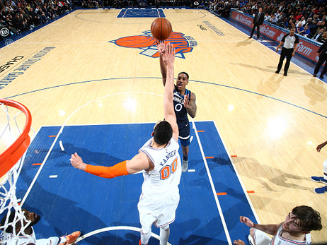 Gallery | Wolves Beat Knicks