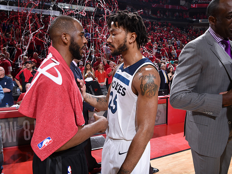 Game 5 Gallery | Wolves Fall To Rockets