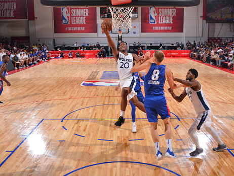 Gallery | Wolves Fall To Pistons In Summer League