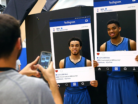 The Top #TWolves Instagram Posts Of The Summer
