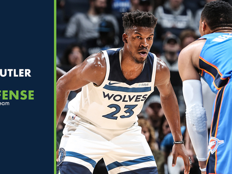 Jimmy Butler Named to NBA All-Defensive Second Team
