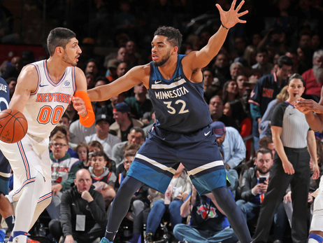 Wolves Hold On To Beat the Knicks On The Road