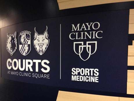 Grand Opening Held Today for Timberwolves and Lynx Courts at Mayo Clinic Square