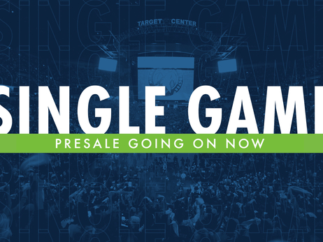 2018-19 Single Game Ticket Presale Live Now