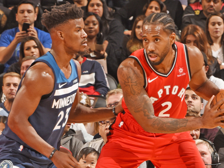 Wolves Put Up A Good Fight But Fall To Raptors In Toronto