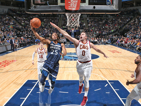 Strong 1st Half Leads To Wolves Home-Opener Win Over Cavs