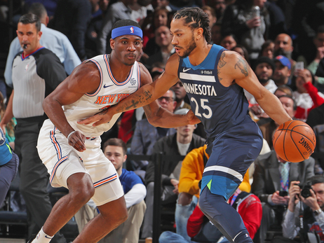 Wolves Take Down Knicks, Extend Streak To Three