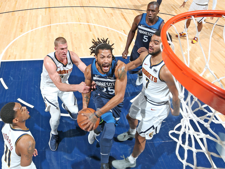 Wolves Fall To Nuggets In A Wire-To-Wire Battle