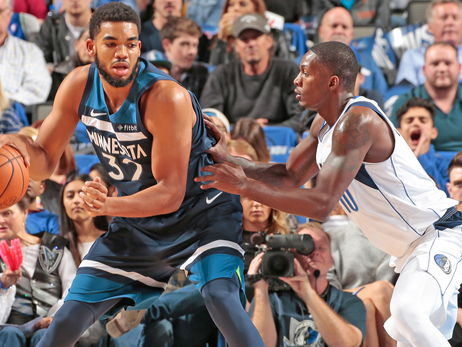 Wolves Drop High-Scoring Contest In Dallas