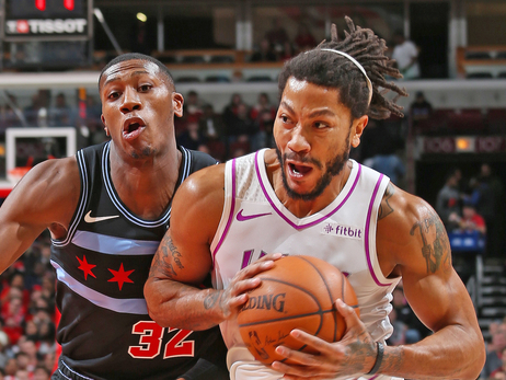 Rose Shines As Wolves Crush Bulls In Chicago