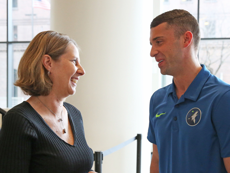 Minnesota Timberwolves Head Coach Ryan Saunders Purchases and Donates Lynx Home Opener Tickets