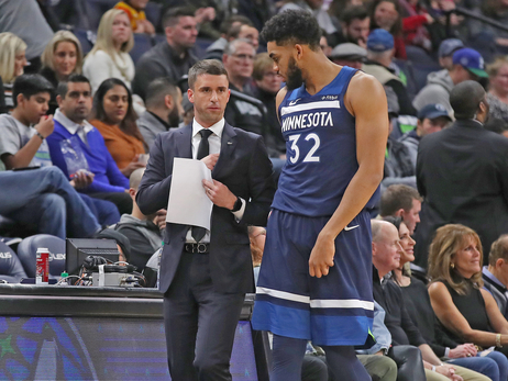 Saunders Has Earned His Shot To Coach The Wolves
