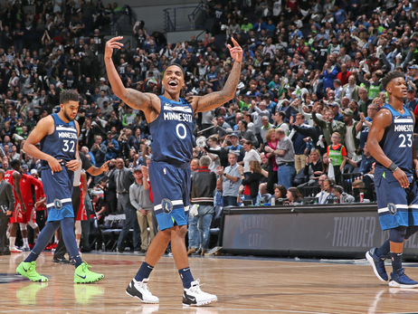 Electric Target Center Crowd Has The Wolves' Back In Game 3 Win