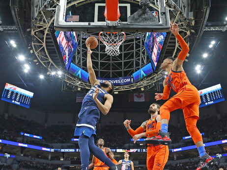 Wolves Unable To Finish Season Sweep Over Thunder