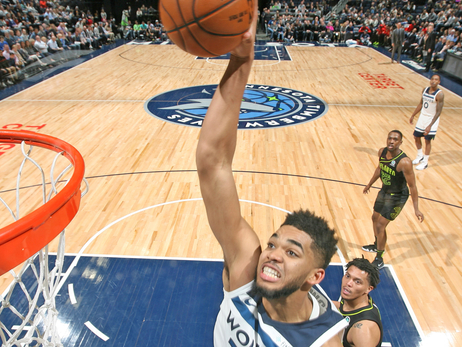 Karl-Anthony Towns' Top-10 Games Of 2017-18