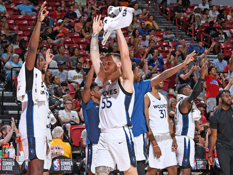 Wolves Keep Winning, Advance To Summer League Championship Game