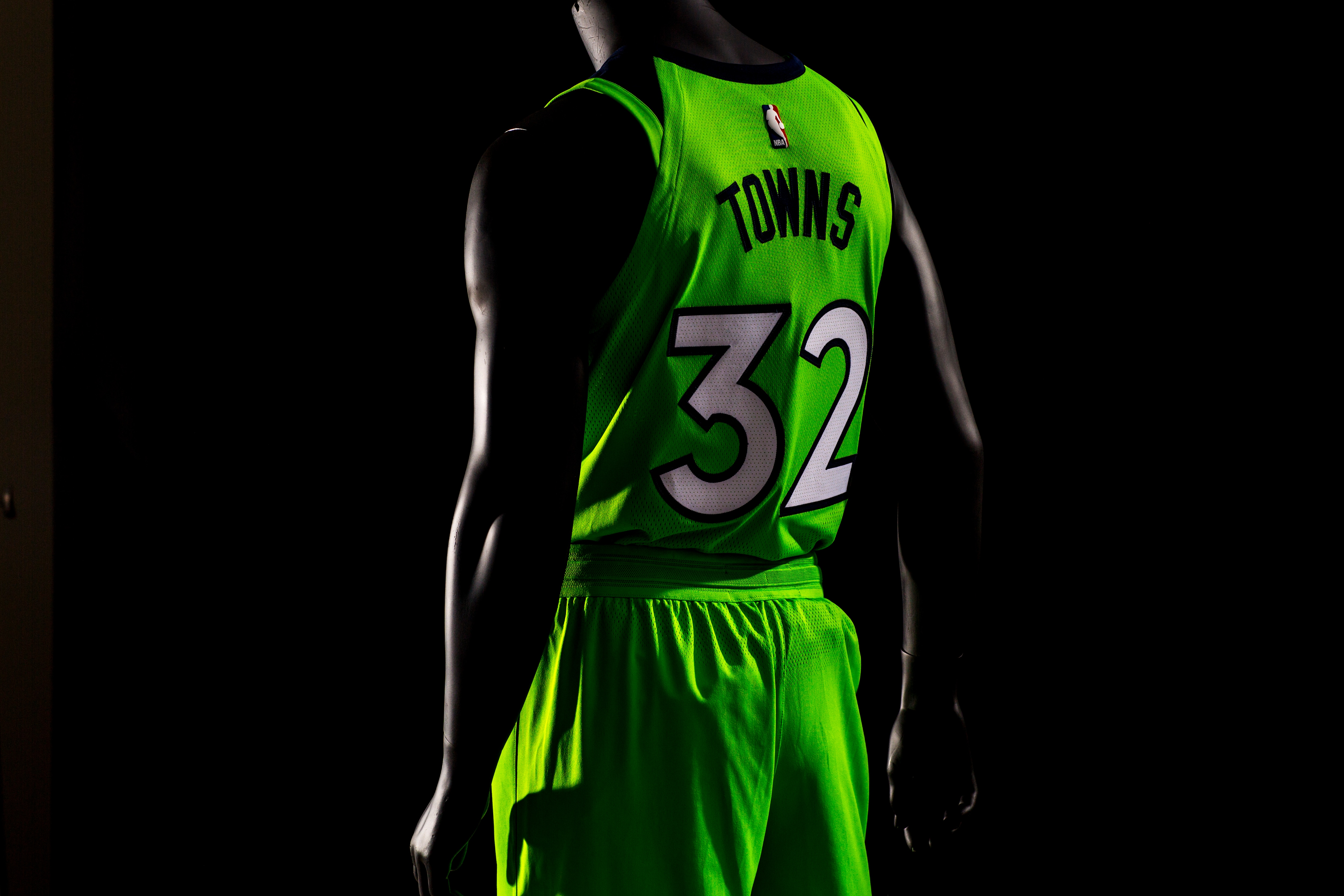 check out 6fb92 ee42d Gallery | Timberwolves Statement Uniform | Minnesota ...